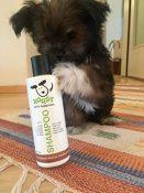 ROQSY Natur Hundeshampoo vegan Naturshampoo für Hunde Aller Rassen, Größen und Fellfarben; auch für Welpen und Sensible Haut